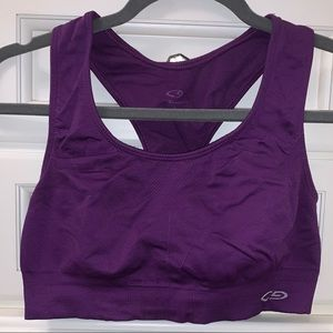 Bright Purple Champion Sports Bra